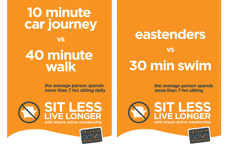Sit Less Live Longer - FSLT - left image