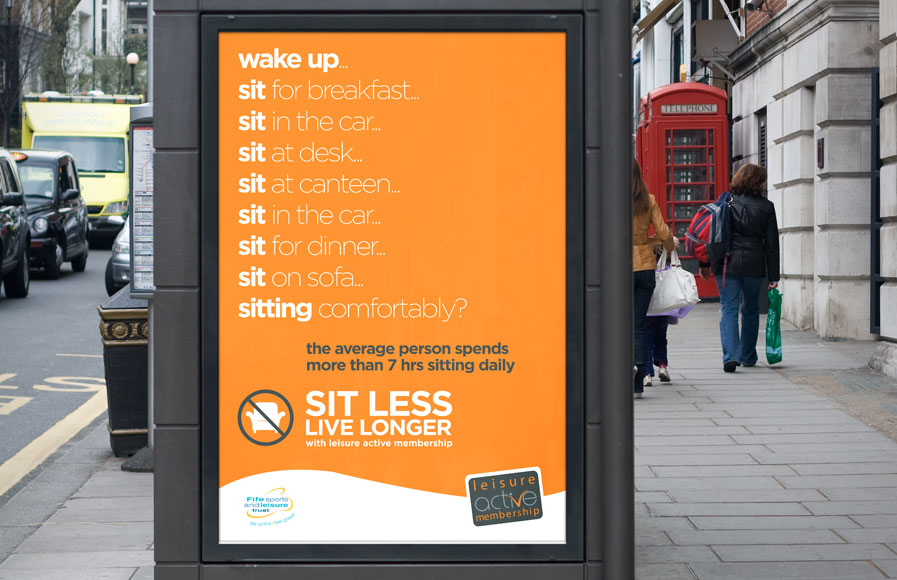 Sit Less Live Longer - FSLT - right image